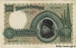 1000 Escudos PORTUGAL  1938 P.152 TTB+