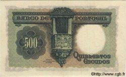 500 Escudos PORTUGAL  1942 P.155 SUP