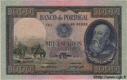 1000 Escudos PORTUGAL  1942 P.156 pr.SUP
