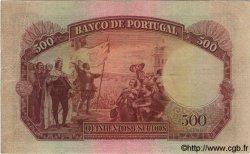 500 Escudos PORTUGAL  1952 P.158 TTB+