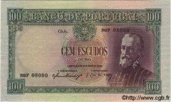 100 Escudos PORTUGAL  1950 P.159 SUP