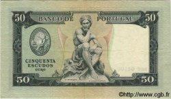 50 Escudos PORTUGAL  1955 P.160 TTB+