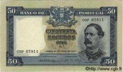 50 Escudos PORTUGAL  1955 P.160 pr.SPL