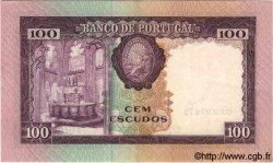100 Escudos PORTUGAL  1961 P.165 pr.SUP