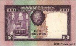 100 Escudos PORTUGAL  1961 P.165 SUP