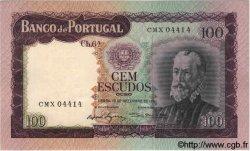 100 Escudos PORTUGAL  1961 P.165 SPL