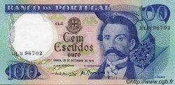 100 Escudos PORTUGAL  1978 P.169b SPL