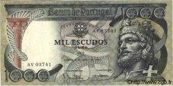 1000 Escudos PORTUGAL  1965 P.171 TTB+