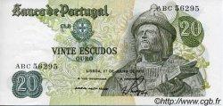 20 Escudos PORTUGAL  1971 P.173 SUP