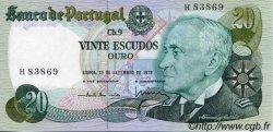 20 Escudos PORTUGAL  1978 P.176a NEUF