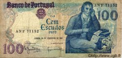 100 Escudos PORTUGAL  1981 P.178b TB