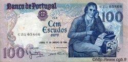 100 Escudos PORTUGAL  1984 P.178c TTB