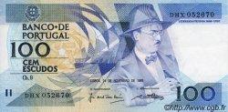 100 Escudos PORTUGAL  1988 P.179f SPL
