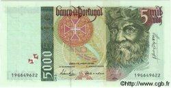 5000 Escudos PORTUGAL  1995 P.190a NEUF