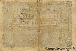 50 Reis PORTUGAL  1891  TB à TTB