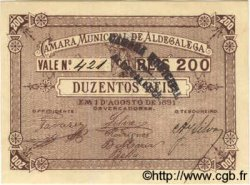 200 Reis PORTUGAL  1891  NEUF