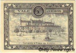 5 Centavos PORTUGAL Arouga 1921  SPL