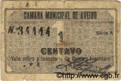 1 Centavo PORTUGAL Aveiro 1920  B+