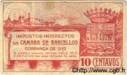 10 Centavos PORTUGAL  1922  TTB