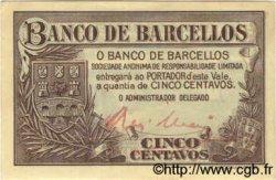5 Centavos PORTUGAL Barcellos 1922  SUP