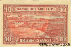 10 Centavos PORTUGAL Barcellos 1922  SUP