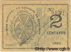2 Centavos PORTUGAL Barquinha 1921  SPL