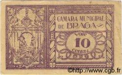 10 Centavos PORTUGAL Braga 1920  TB