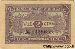 2 Centavos PORTUGAL  1919  SUP