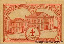 4 Centavos PORTUGAL Castelo De Paiva 1920  TTB