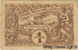 1 Centavo PORTUGAL Chaves 1920  TB