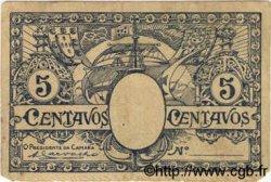 5 Centavos PORTUGAL  1918  TB