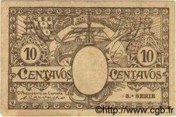 10 Centavos PORTUGAL  1918  TTB