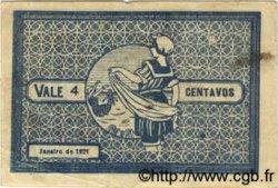 4 Centavos PORTUGAL Espinho 1921  TB+