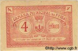 4 Centavos PORTUGAL Feira 1921  TTB+