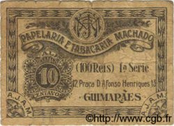 10 Centavos PORTUGAL Machado 1920  B+