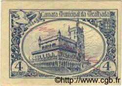 4 Centavos PORTUGAL Mealnada 1918  TTB