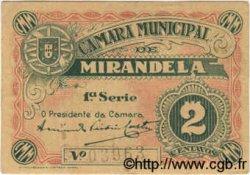 2 Centavos PORTUGAL Mirandela 1918  SPL