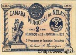 2 Centavos PORTUGAL  1922  SPL