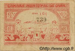1 Centavo PORTUGAL Ovar 1921  TB