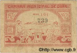 1 Centavo PORTUGAL Ovar 1921  pr.TB