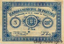 3 Centavos PORTUGAL  1920  TB+