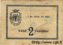2 Centavos PORTUGAL Penafiel 1920  TTB