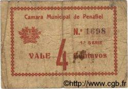 4 Centavos PORTUGAL Penafiel 1920  TB