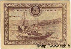 5 Centavos PORTUGAL Pezo Da Regoa 1922  TTB+
