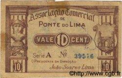 10 Centavos PORTUGAL Ponte De Lima 1920  TB