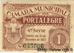 1 Centavo PORTUGAL Portalegre 1922  TTB