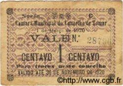 1 Centavo PORTUGAL Tomar 1920  B+
