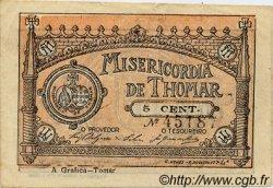 5 Centavos PORTUGAL Thomar 1920  TTB+
