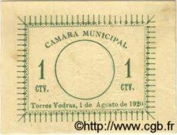 1 Centavo PORTUGAL Torres Vedras 1920  SUP