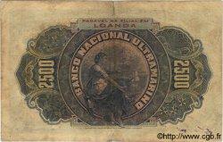 2500 Reis ANGOLA  1909 P.029 TB+